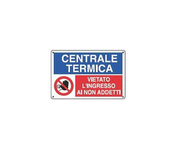 Cartelli multisimbolo - Centrale termica