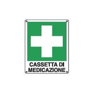 Cartelli di emergenza-Cassetta di medicazione