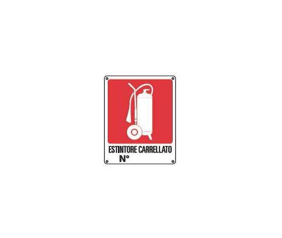 Cartelli antincendio-Estintore carrellato2