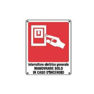 Cartelli antincendio-Interruttore