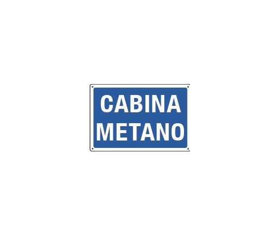 Cartelli cabina metano