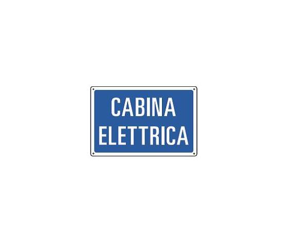 Cartelli di informazione-Cabina elettrica