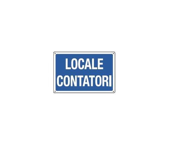 Cartelli locale contatori