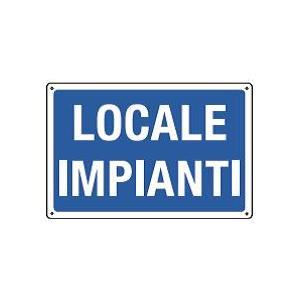 Cartelli di informazione-Locale impianti