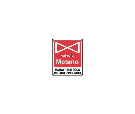 Cartelli valvola metano