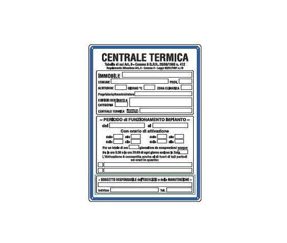 Cartelli centrale termica2