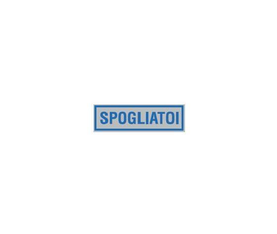 Etichetta spogliatoi