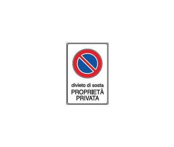 Cartelli proprietà privata-Divieto di sosta