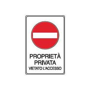 Cartelli proprietà privata-Proprietà privata