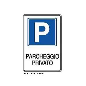 Cartelli proprietà privata-parcheggio privato