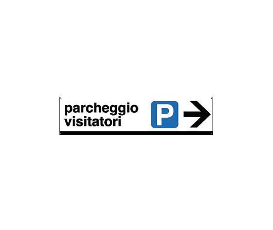 Cartelli di indicazione-Parcheggio visitatori