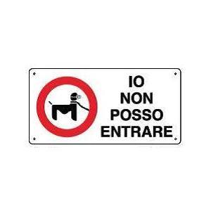 Cartelli attenti al cane-io non posso entrare