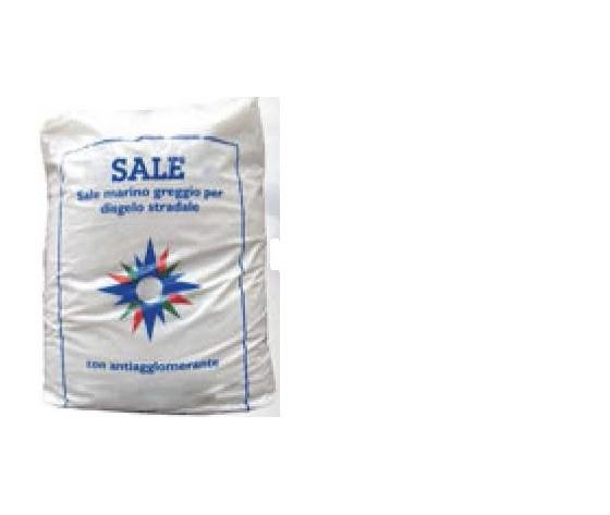 Composto per lo scioglimento del ghiaccio - Sale scioglineve sacco da 25kg