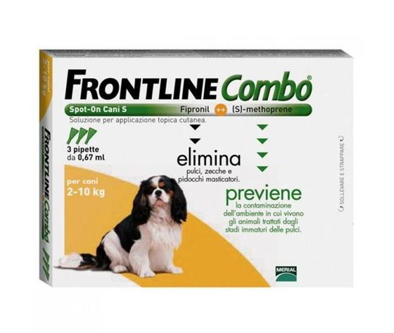 FRONTLINE COMBO CANE 2-10 kg 3 pipette