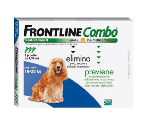 FRONTLINE COMBO CANE 10-20 kg 3 pipette