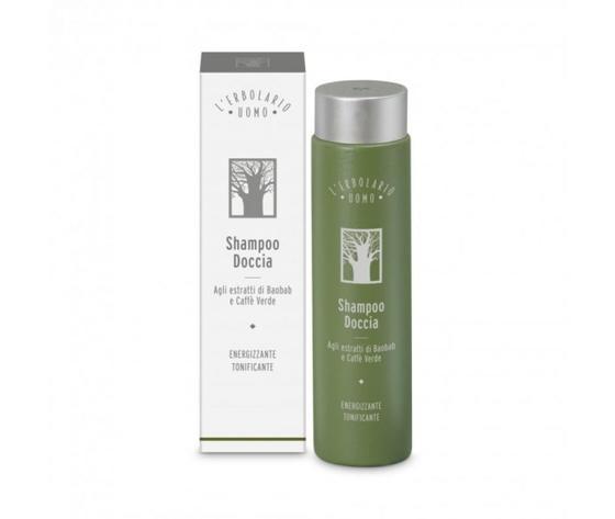 Shampoo Doccia agli Estratti di Baoabab e Caffè Verde 250ml