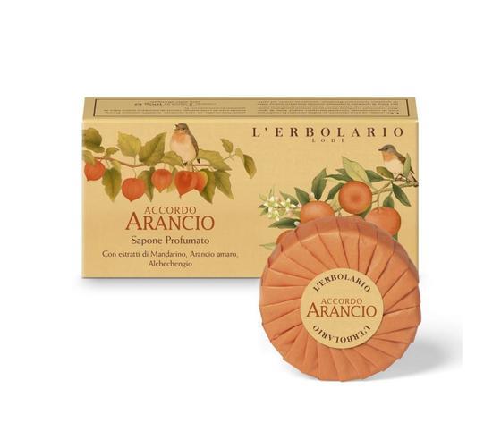 Sapone Profumato Accordo Arancio confezione da 2 saponi da 100 g