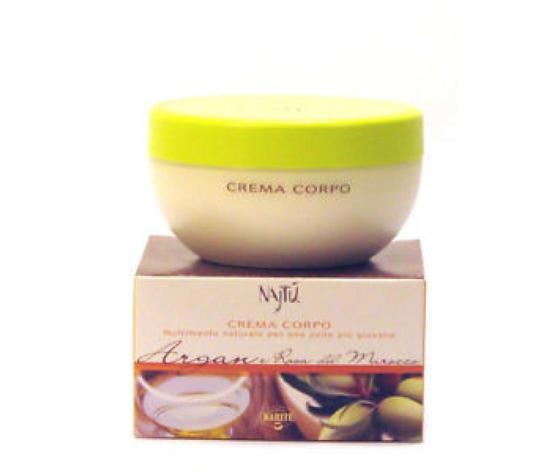 Crema Corpo Najtu Argan e Rosa del Marocco 200 ml