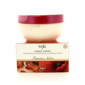 Crema Corpo Najtu Papavero e Ambra 200 ml