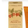 Crema fluida corpo accordo arancio