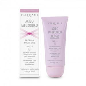 BB Cream Crema Viso SPF 15 Con Acido Ialuronico 50ml