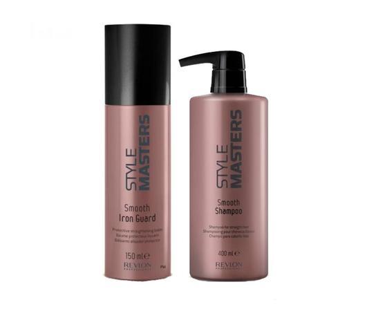 Smooth Shampoo 400ml + Balsamo Illuminante Style Masters