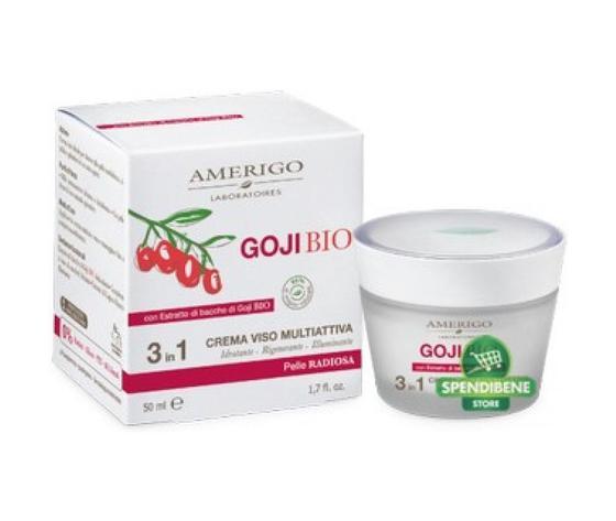 Crema VIso Multiattiva 3 in 1 con bacche di Goji Bio 50 ml
