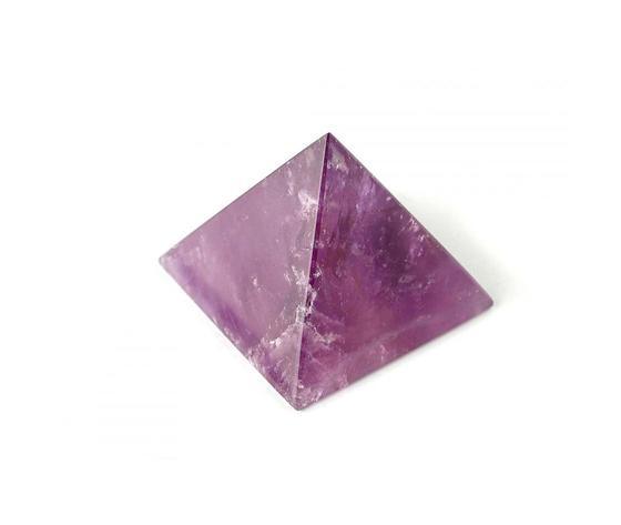 Pietra Ametista forma piramidale