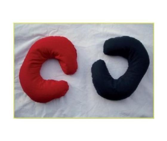 Cuscino a Collare Caldo/Freddo con Semi di Lino