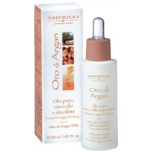 Oro Di Argan Olio puro viso collo e décolleté 30ml Amerigo Laboratories
