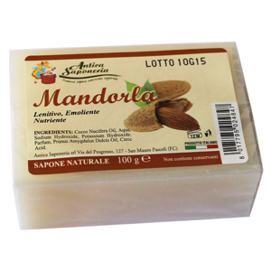 Sapone Naturale Vegetale Mandorla