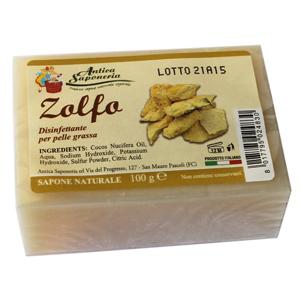 Sapone Naturale Vegetale Zolfo