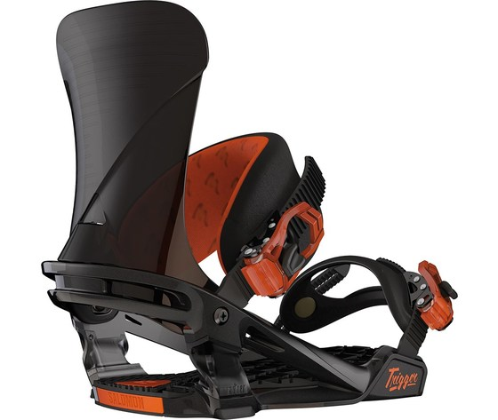 Attacco snowboard Salomon Trigger black/orange
