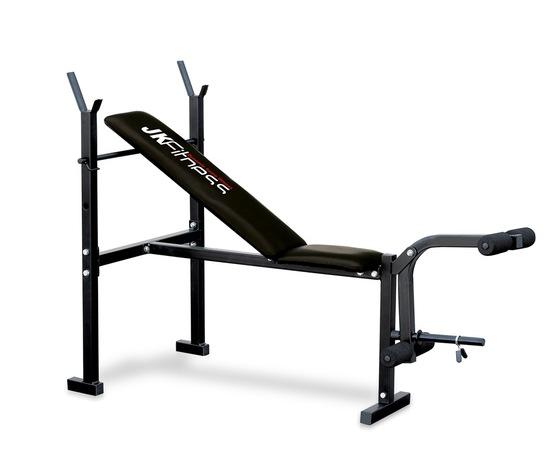 panca regolabile con porta bilanciere eco JK fitness JK 6055