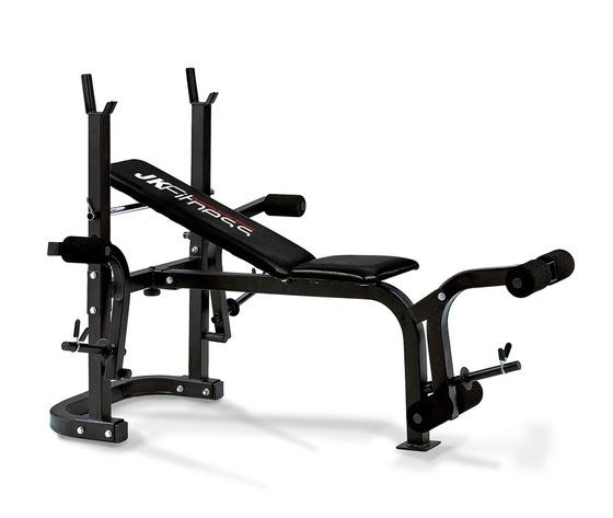 panca regolabile con porta bilanciere  JK fitness JK 6060