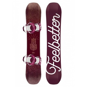 Snowboard Bataleon Feelbetter set con attacco Switchback