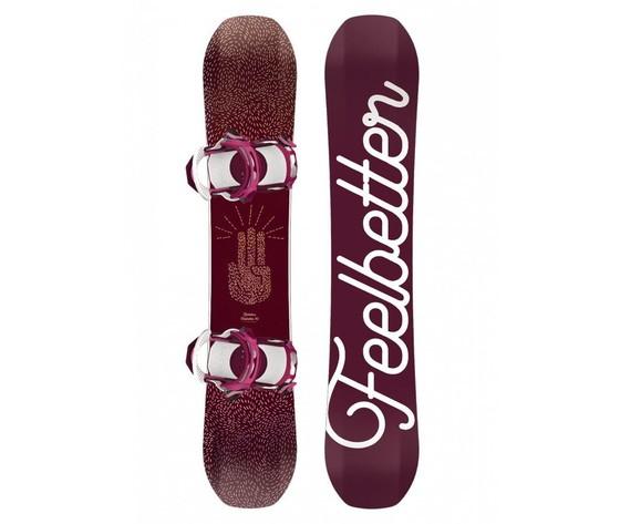 Snowboard Bataleon Feelbetter set con attacco Switchback