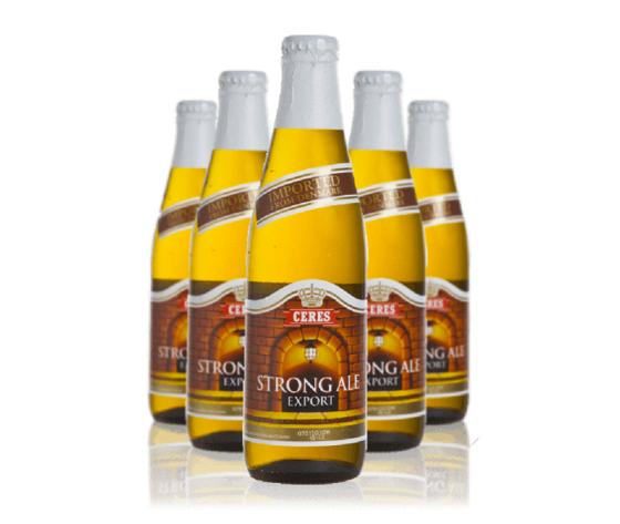 Birra Ceres Strong Ale lt 0.33 VAP x 24 bottiglie