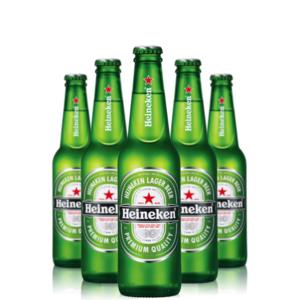 Birra Heineken lt 0.66 VAP x 15 bottiglie