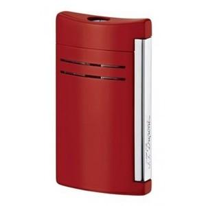 Dupont  Maxijet  accendino  cromo laccato rosso