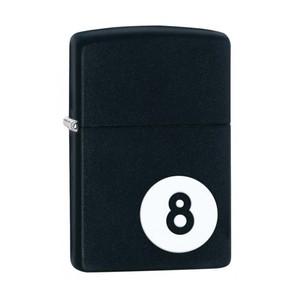 Accendino ZIPPO 8-Ball - Black Matte (nero opaco)