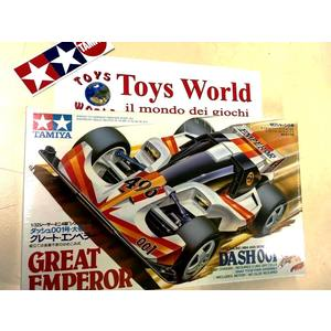Mini4wd Great emperor modello serie rara