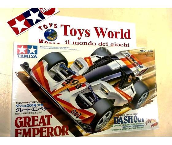 Mini4wd Great emperor modello serie rara