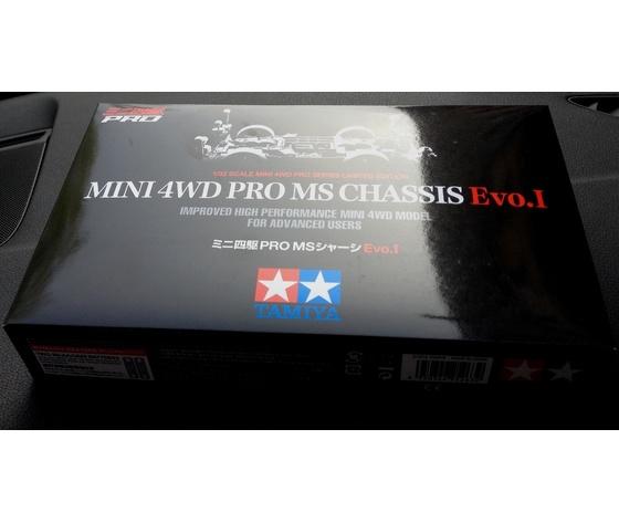 Mini4wd EVO telaio MS serie pro modello da gara