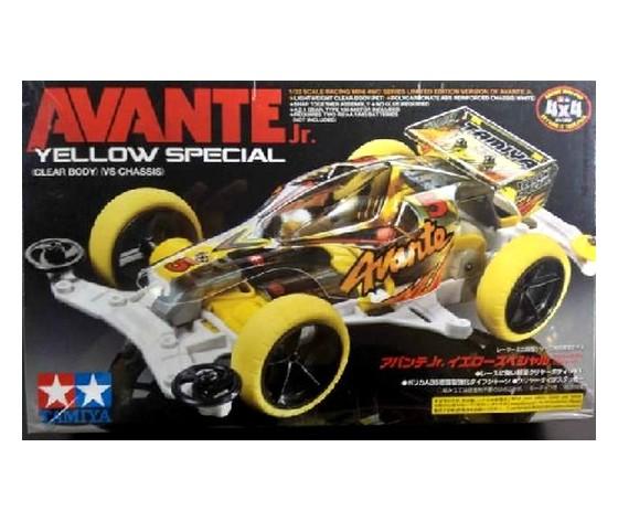Mini4wd Avante Yellow Speciale modello gara