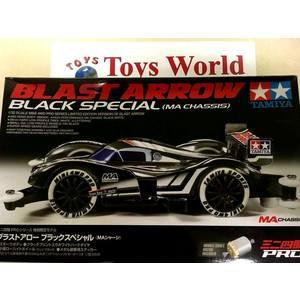Mini4wd BLAST ARROW BLACK SPECIAL telaio MA modello da gara