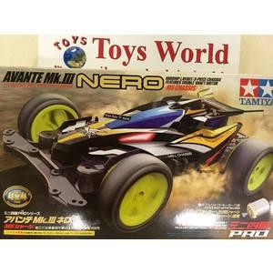 Mini4wd avante MK3 Nero serie limitata modello gara