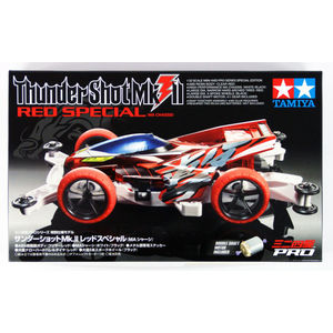 MINI4WD THUNDER SHOT MK2 RED SPECIAL MA CHASSIS