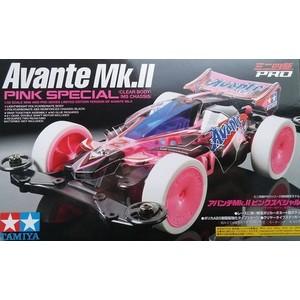 Mini4wd Avante MK2 pink speciale modello gara e da collezione