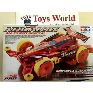 mini4wd neo falcon edizione Red Special modello da gara
